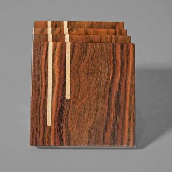 handcrafted wooden coasters